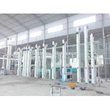 Автоматический риса мельница завод в Бангладеш