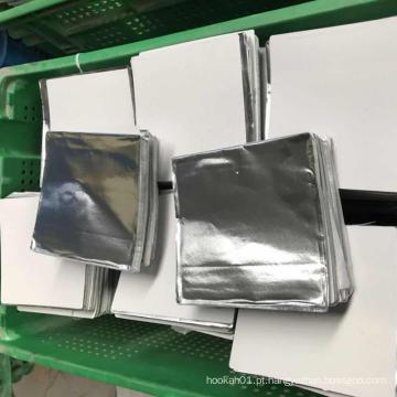 Folha de alumínio de cachimbo de água para fumar
