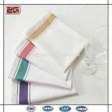 Venta al por mayor baratos de Guangzhou Fabricación al por mayor de algodón Hotel Clean Cup paño / Servilleta Hotel