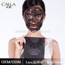 OEM / ODM masque de gel naturel hydratant intensif masque de dentelle