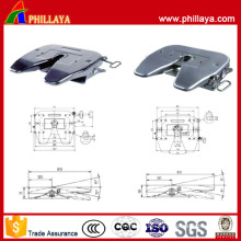 Two Types Optional Semi Trailer Coupler Fifth Wheel