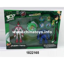 Brinquedo de boneca de plástico barato promocional com luz (1822165)