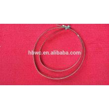 correa de acero inoxidable para soporte de almacenamiento de cable