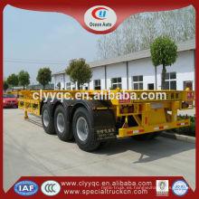 China 40 ton contenedor semirremolque coche
