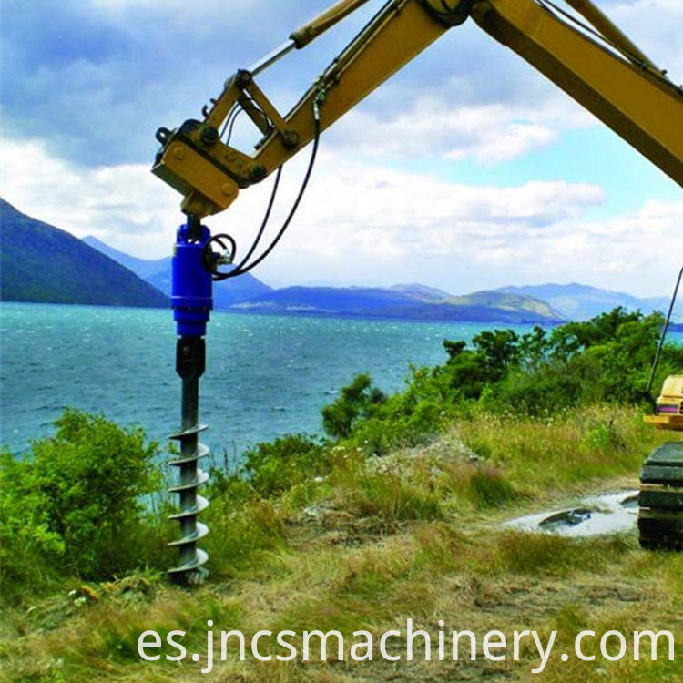 earth hole drilling machine