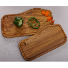 Olive Wood Chopping Board With Groove And Well