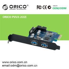 4 ports USB3.0 carte PCI-E express avec super vitesse de 5.0Gbps