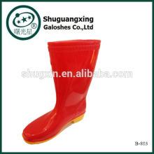 High Quality New Men Fashion Boots PVC Rain Boots Man's Rain Boots B-803