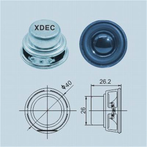 40MM 3ohm 5W Micro multimedia högtalare enhet