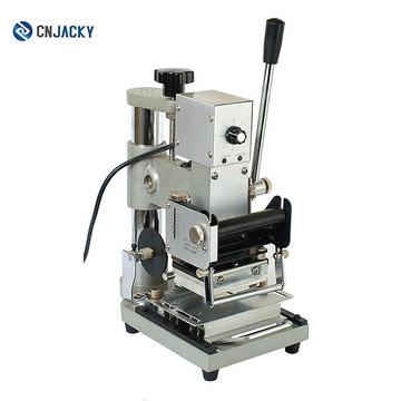 2018 más nueva producción 90 Hot Stamper para máquina de estampación refinada y hermosa