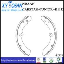 Sapata de freio de carro para Nissan Cabstar Junior K1152