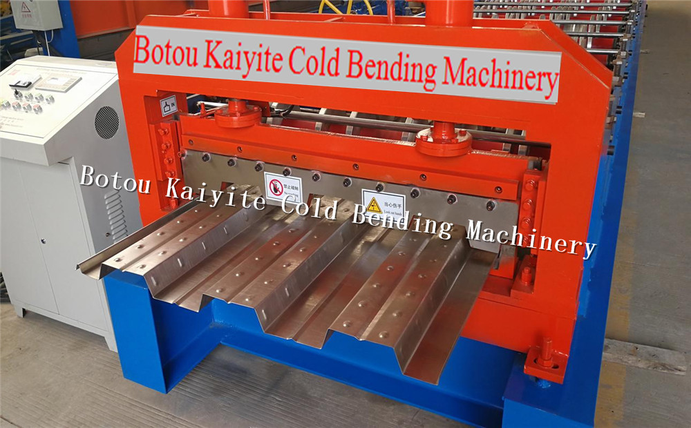steel building floor deck rollf roming machine