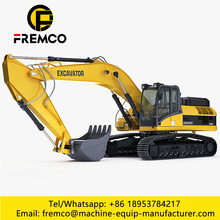 Mid Crawler Excavator For Construction