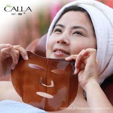 FDA provou a máscara protectora de cristal do colagénio da cara do emagrecimento do café preto dos produtos novos