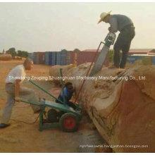 Wood Slasher Electric Chain Slasher Gasoline Chain Saw Mill