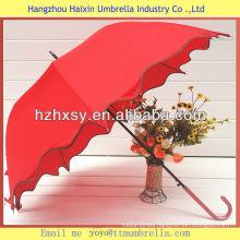 Red Fancy Wedding Umbrella