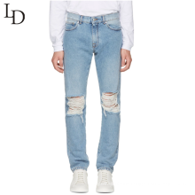 Vintage design custom fit style men jeans pants