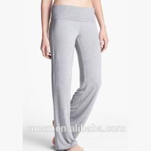 15STC6721 pantalons de yoga en bambou de yoga