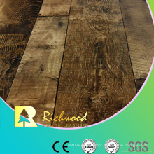Commercial E1 AC3 Embossed Walnut V-Grooved Waterproof Laminated Flooring
