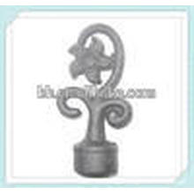 Cast Iron Powder Coated Curtain Rod Finial Manufacturer