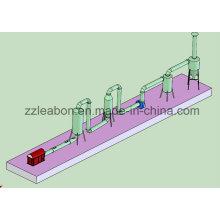 Sécheur de tuyaux de biomasse approuvé CE Équipement de séchage de sciure
