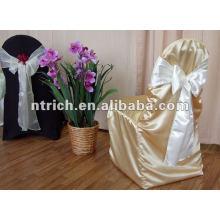 Wedding satin chair cover