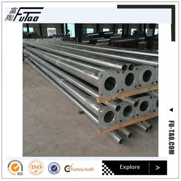 12M Single Arm Round Taper Steel Pole