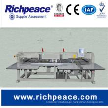 Máquina de costura industrial automática de cabeça dupla Richpeace