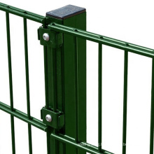 High quality European 646 Powder Coated Dole Wire Welded Mesh Fence Panels made in China