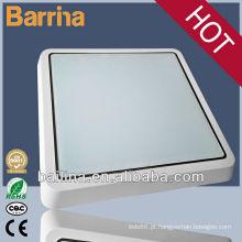 Luminária de teto de cozinha quadrada impermeável e poupança de energia LED