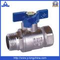 Vanne à eau en laiton à bouteilles en usine (YD-1011)