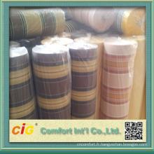 tissu solide preuve de l'eau et de la stabilité de la couleur des tissus pour les chaises de porte en toile