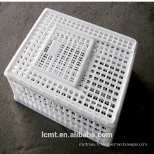 Nouvelle matière en plastique cage de canard de poulet pour le transport