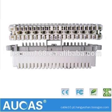 Desconexão e Conexão do Projeto Telecom LSA Krone Module For RJ11 Telephone Cable