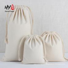Bolso con cordón grande de lona de arroz de almacenamiento