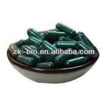Cápsula de pó de Spirulina de qualidade orgânica