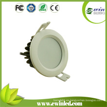 AC100-277V impermeable SMD LED Downlight con 82 mm de recorte