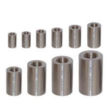 45# Solid Carbon Steel rebar couplers/rebar mechanical splice/thread sleeve
