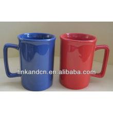 ¡Taza de café de cerámica con la venta caliente de la manija grande !!