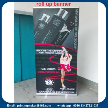 Aluminium Advertising Roll Up Banner Printing