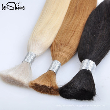 Best Quality Double Drawn Hair Bulk Full End