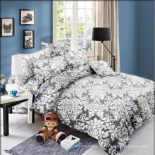Conjunto de cama de edredom com capa de edredon impresso com estampa suave