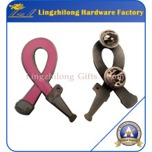 Hard Enamel Ribbon Breast Cancerr Pin