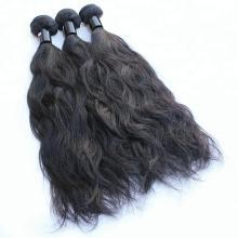 100g Por Pacotes Natural Cor Preta Weave Bundles Cabelo Indiano Onda Naturais Cabelo Em Massa