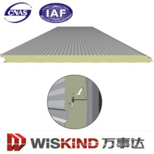 Easy Install and Heat Insulation PU /Polyurethane Sandwich Panel