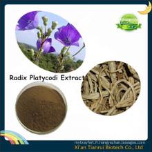 Extrait Radix Platycodi, Extrait Balloonflower, Extrait Platycodon Grandiflorum