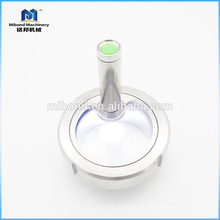 Надежное качество CE Пищевое смотровое стекло из нержавеющей стали