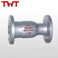 Primavera 1 preço de válvula de retenção em linha de 2 polegadas