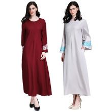 Nouvelle conception robe dernière Abaya Designs facile à porter pour les femmes
