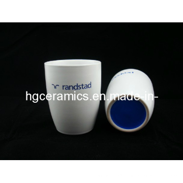 Tasse en céramique gravée au laser, sans poignée, tasse de café